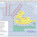 North and South Lease Areas within the Rhode Island and Massachusetts Wind Energy Area