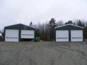 SW's lay-up shop and brand new twin-bay building.
