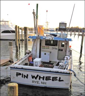 Tuna boat Pin Wheel. (Shelley Wigglesworth photo)