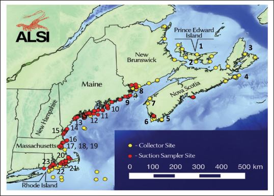 "The following is this year's ""Update 2015 to the American Lobster Settlement Index,"" prepared and presented here by Rick Wahle and his colleagues at the University of Maine's Darling Center. Our thanks to Dr. Wahle and his team for sharing this important information once again this year with our readers. —Editor"