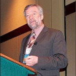 AA14 plenary keynote speaker Patrick Sorgeloos, professor at Ghent University in Belgium.  (Rick Martin photo)