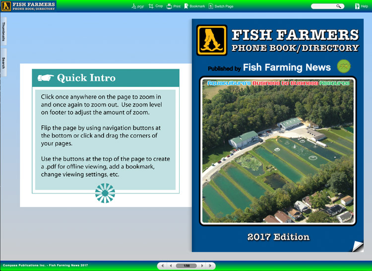Fish Farmer's Phone Book » Fish Farming News